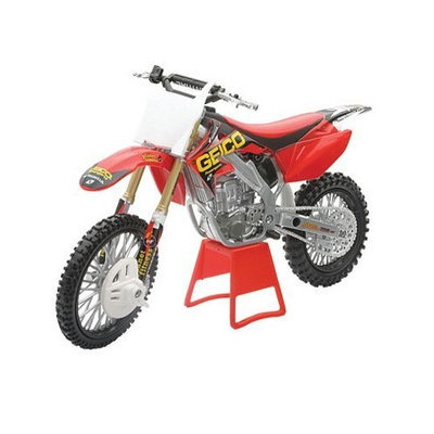 New Ray Toys Ray Geico Honda CRF250R Motorcycle Model 1:12 Scale