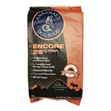 Natural Animal Nutrition Annamaet Encore 25 Formula Dry Dog Food 30lb
