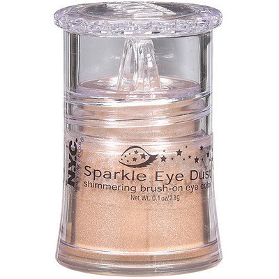 N.Y.C. New York Color NYC New York Color Sparkle Eye Dust Shimmering Brush-On Eye Color, 893A Champagne, 0.1 oz.