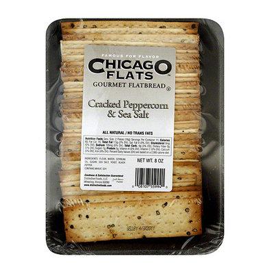 Chicago Flats Cracked Peppercorn & Sea Salt Flatbread
