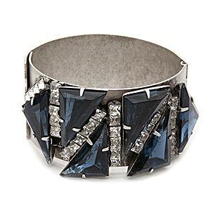 Elizabeth Cole Jewelry Strider Triangle Bracelet