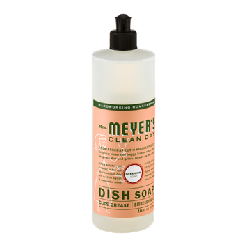 Mrs. Meyer's Clean Day Dish Soap Geranium Scent