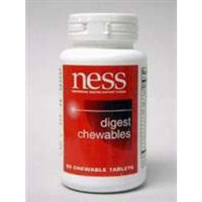 Ness Enzyme's NESS Enzymes Digest Chewables 90 tabs