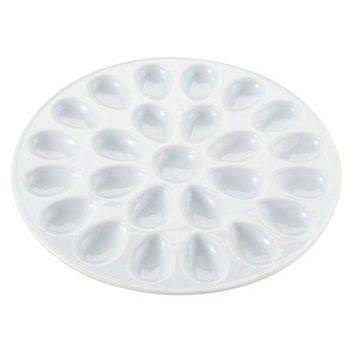 Harold Imports Harold Import Co. Porcelain Deviled Egg Dish - 13