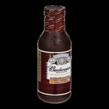 Budweiser Honey Barbecue Sauce