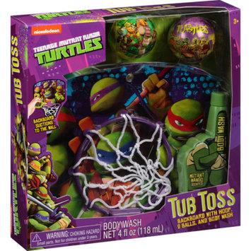 TMNT-NICKLODEON Nickelodeon Teenage Mutant Ninja Turtles Tub Toss Gift Set, 4 pc