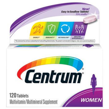 Centrum Women, Multivitamin, Tablets, 120 ea