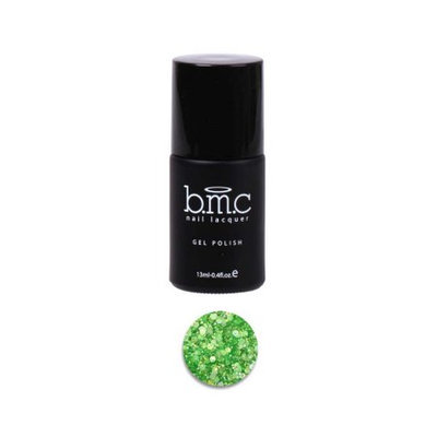 Bundle Monster BMC Mix Hexagon Shaped Glitter Green Nail Lacquer Gel Polish - Woodland Fantasy