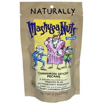 Mashuga Cinnamon Spiced Pecans, 2.25-Ounces (Pack of 12)