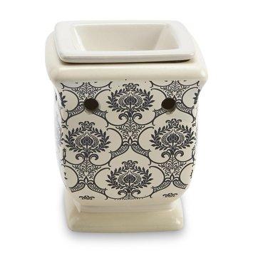 Langley Products L.l.c. Ceramic Plug-In Fragrance Warmer - Ivory Damask