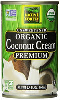 Native Forest COCONUT CREAM, OG2, CAN, (Pack of 12)