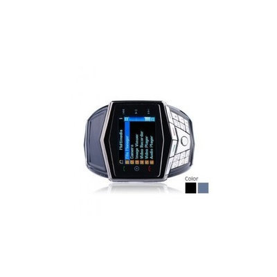 Gd910 Ultra Thin Quad Band Bluetooth Mp3 / Mp4 Wrist Watch with Keypad Cell Phone (2gb Tf Card)
