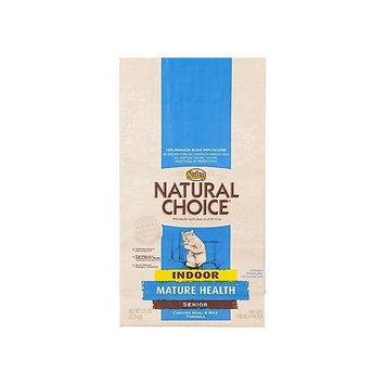 Natural Choice Cat Natural Choice Chicken Meal and Rice Formula Indoor Mature Health Senior Cat Food, 15-1/2-Pound