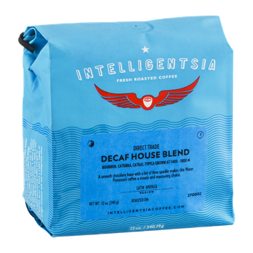 Intelligentsia Fresh Roasted Coffee Direct Trade Decaf House Blend
