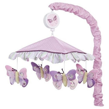 Lambs & Ivy Bedtime Lambs & Ivy Butterfly Bloom Musical Mobile