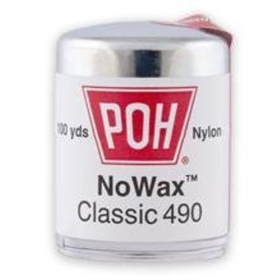 Poh Poh Dental Floss Unwaxed 100 Yd