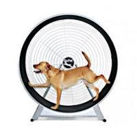 GoPet CS6020 Dog powered Tread Wheel - Medium - large breed - Silver