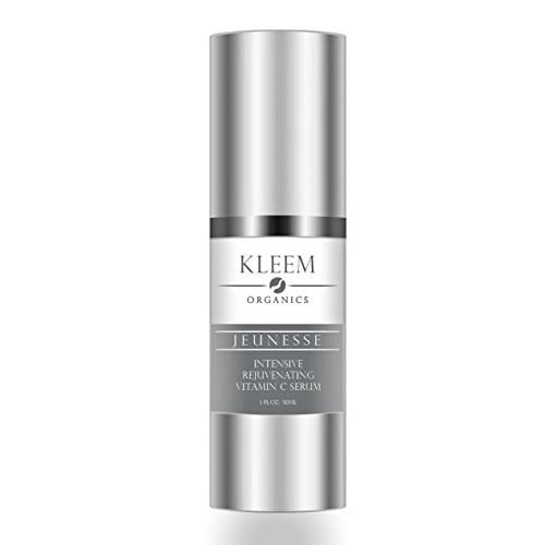 Kleem Organics 20% Pure Vitamin C + E Hyaluronic Acid Serum for Face Rejuvenation