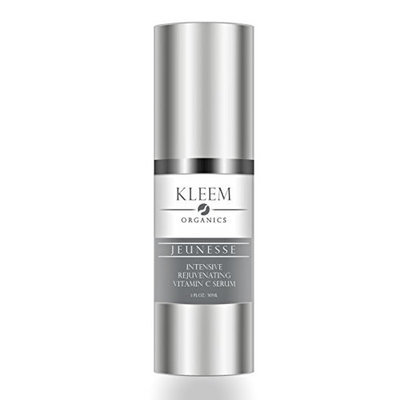 Kleem Organics 20% Pure Vitamin C + E Hyaluronic Acid Serum for Face Rejuvenation