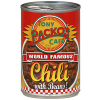 Tony Packo Tony Paco's Cafe Chili With Beans, 15 oz (Pack of 12)