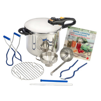 Fagor Duo Stainless Steel 9 Piece Pressure Canning Set