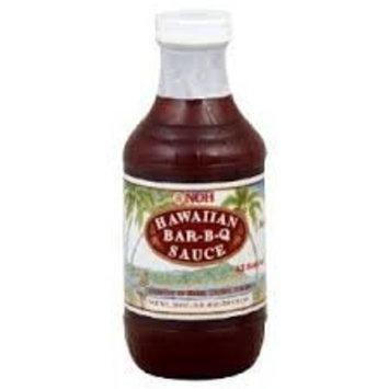 Noh Foods Hawaiian Barbecue Sauce 20 Oz(Pack of 6)