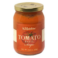 La Madeleine, Soup Tomato Basil, 15.5 OZ (Pack of 12)