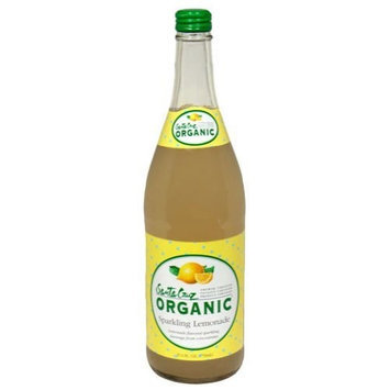 Santa Cruz Organics Sparkling Lemonade, 750Ml (Pack of 12)