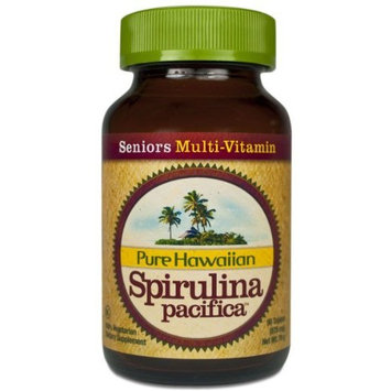 Nutrex Hawaii Hawaiian Spirulina Pacifica Seniors' Multi-Vitamin, 90-tablet Bottle