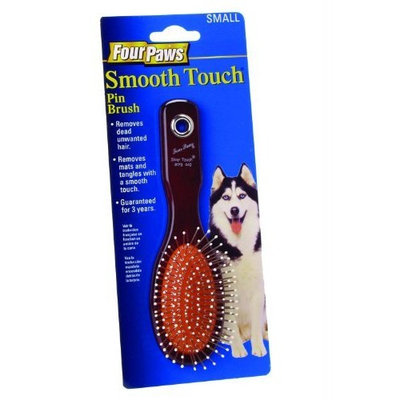 Four Paws Pet Products Smooth Touch Pin Brush - Small