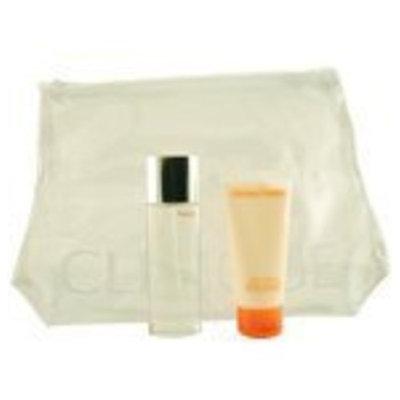 HAPPY by Clinique Gift Set for WOMEN: EAU DE PARFUM SPRAY 1.7 OZ & BODY CREAM 2.5 OZ & BAG