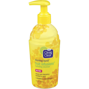 Clean & Clear Morning Burst Fruit Infusions Hydrating Cleanser