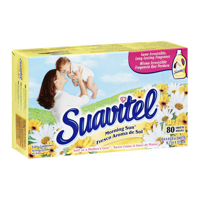 Suavitel Sheets Morning Sun 80 ct.