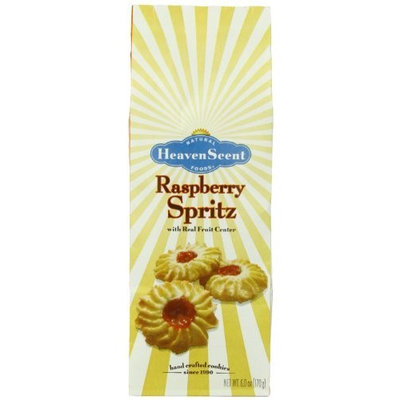 Heaven Scent Cookies, Raspberry Spritz, 6-Ounce Packages (Pack of 6)