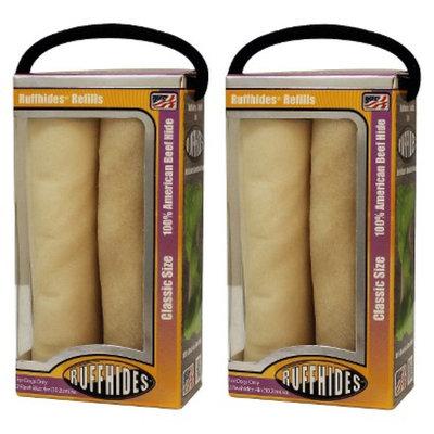 Pawabunga!, LLC Ruffhide Beef Rawhide Refills - Classic (2 Pack)