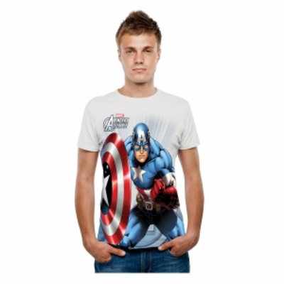 Marvel Captain America Tee - Adult