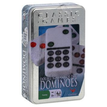 Cardinal Industries Cardinal Ind Toys Classic Games Dominoes, Double Nine Color Dot, 1 set - CARDINAL INDUSTRIES INC.