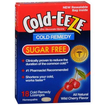 Cold-Eeze Lozenge, Sugar Free, Cherry, 18 ea