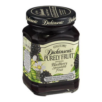 Dickinson's Purely Fruit Seedless Blackberry Spreadable Fruit