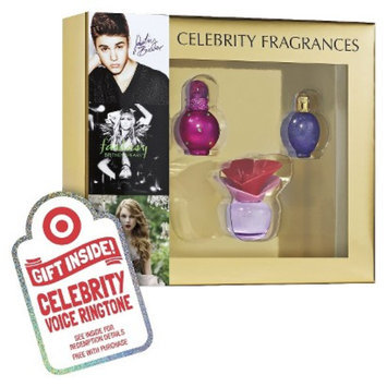 Justin Bieber Women's Celebrity 3 Piece Replica Coffret Plus Free Celebrity Voice