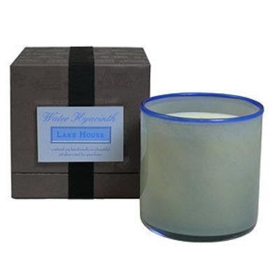 House & Home House and Home Candle, Lake House - Water Hyacinth, 1 ea