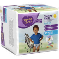 Parents Choice Parent's Choice Training Pants for Boys, Big Pack (Choose Your Size)