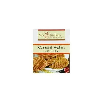 Euro Kitchens Caramel Wafer Stroopwafel 8.8 Oz (Pack of 6)