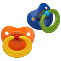 NUK 2 Pack Classic Latex BPA Free Pacifier, Size 3, Colors May Vary