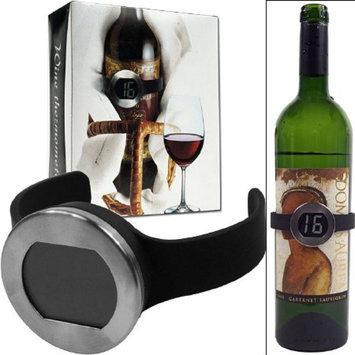 Trademark Global Wine Bottle Thermometer w/ Digital Display - Home