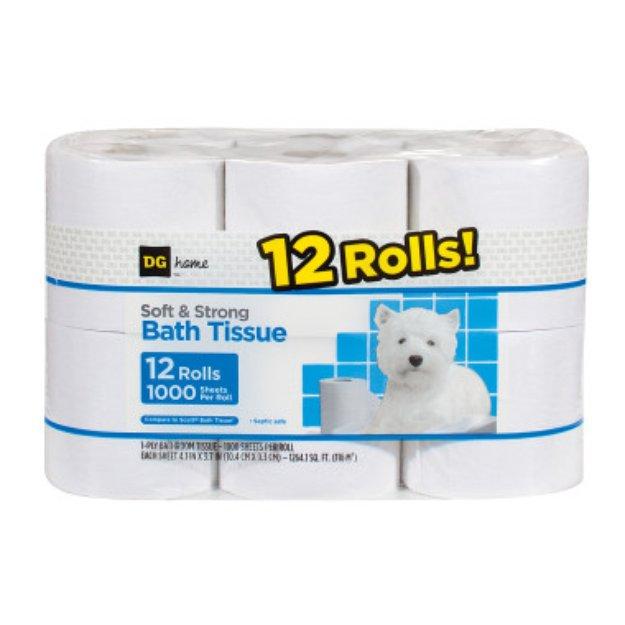 DG Home Bath Tissue