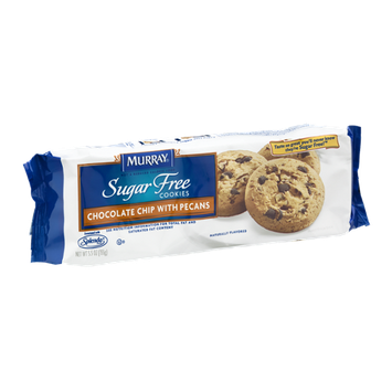Murray Sugar Free Cookies Chocolate Chip with Pecans