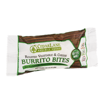 Cedarlane Burrito Bites Roasted Vegetable & Cheese