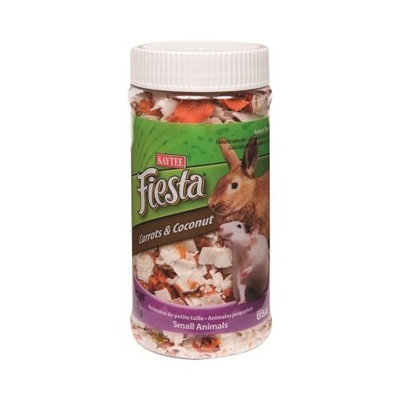 Kaytee Pet Products SKT100503060 Fiesta Carrots and Coconuts Small Animal Treat, 6.5-Ounce