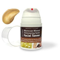Moroccan Mineral Shimmering Sands Facial Tanner by Extended Vacation